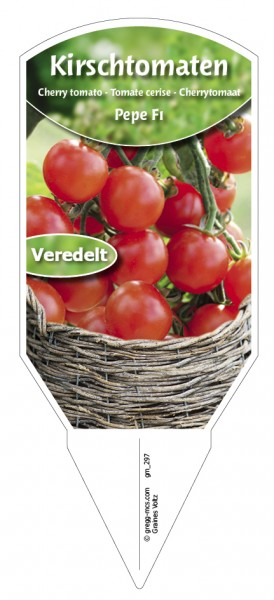 Tomaten, Kirsch- 'Pepe F1' veredelt
