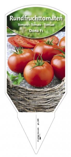 Tomaten, Rundfrucht- Dona F1