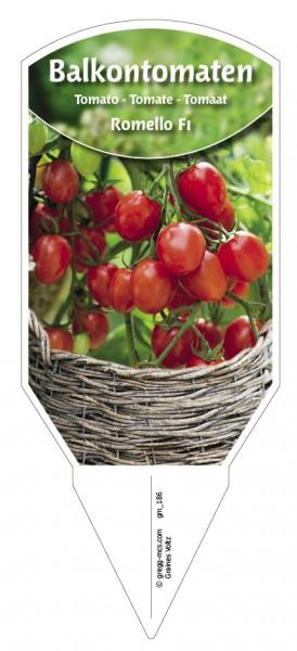 Tomaten, Balkon'Romello F1'