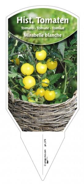 Tomaten, Historische Mirabelle blanche