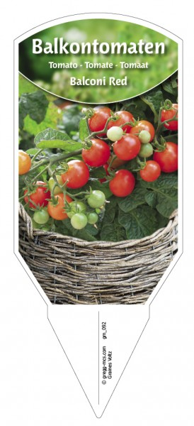 Tomaten, Balkon'Balconi Red'