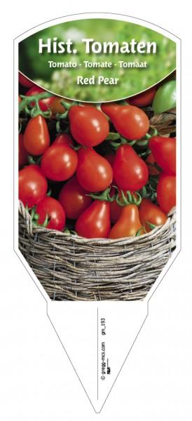 Tomaten, Historische 'Red Pear'