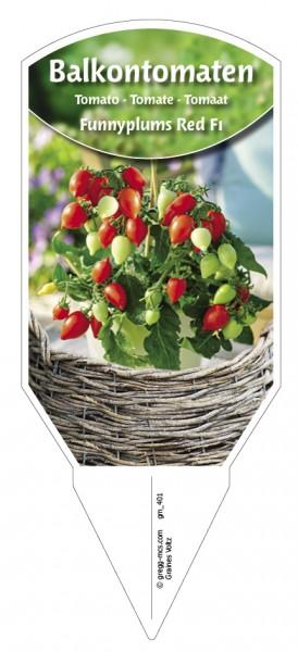Tomaten, Balkon 'Funnyplums® Red F1'