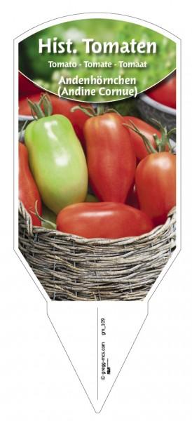 Tomaten, Historische 'Andenhörnchen' (Andine Cornue)