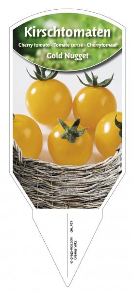Tomaten, Kirsch- 'Gold Nugget'