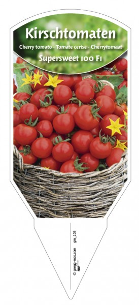 Tomaten, Kirsch- 'Supersweet 100 F1'