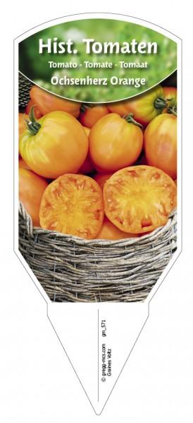 Tomaten, Historische Ochsenherz Orange