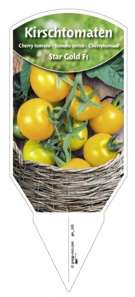 Tomaten, Kirsch- 'Star Gold F1'