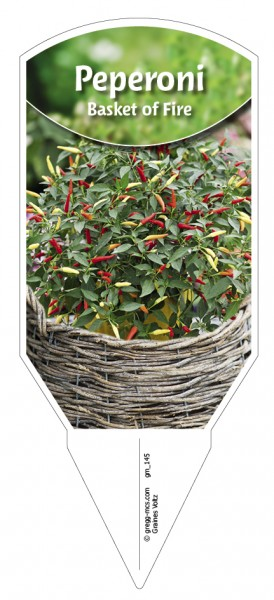 Peperoni 'Basket of Fire'