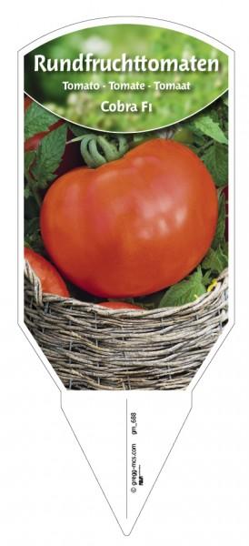 Tomaten, Rundfrucht- Cobra F1