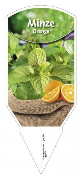 Orangenminze