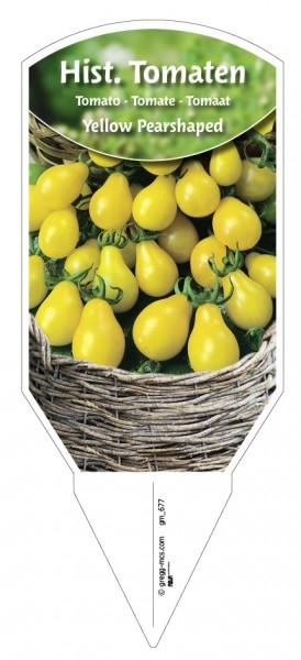 Tomaten, Historische Yellow Pearshaped