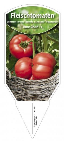 Tomaten, Fleisch Rose Crush F1