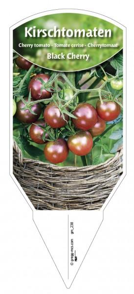 Tomaten, Kirsch- 'Black Cherry'
