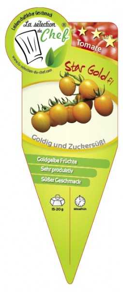 Tomate 'Star Gold F1'