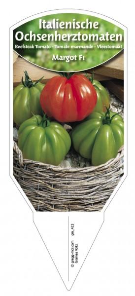 Tomaten, Ochsenherz- Italienische 'Margot F1'