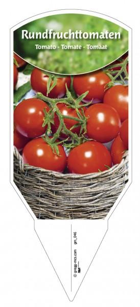 Tomaten, Rundfrucht-