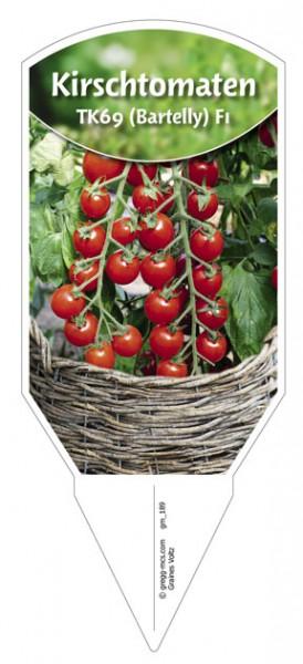 Tomaten, Kirsch- 'TK69 (Bartelly) F1'