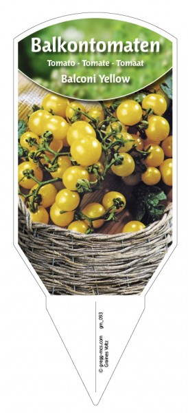 Tomaten, Balkon'Balconi Yellow'