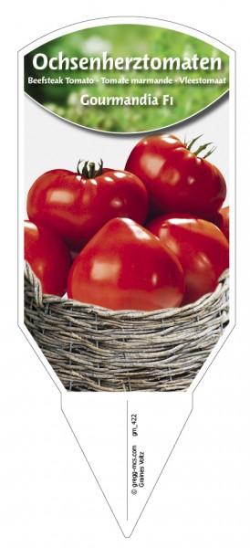 Tomaten, Ochsenherz- 'Gourmandia F1'