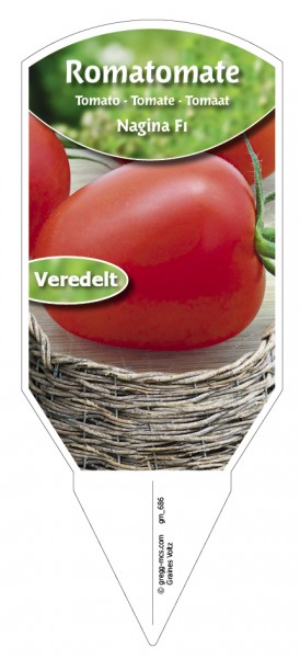 Tomaten, Roma- Nagina F1 veredelt