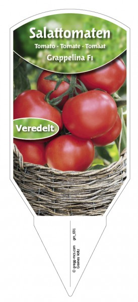 Tomaten, Salat- Grappelina F1 veredelt